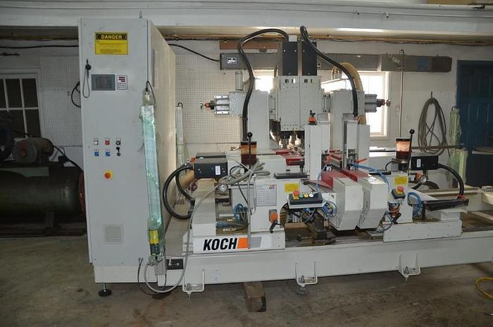 2017 Koch Throughfeed Drilling Machine