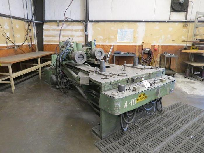 Hufford A-10 Stretch forming machine: