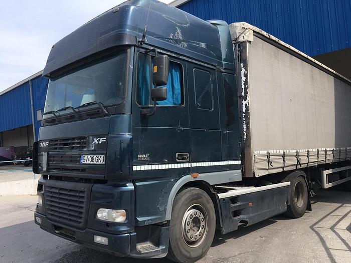 Used 2000 DAF 95 XF 430 euro 3 manual