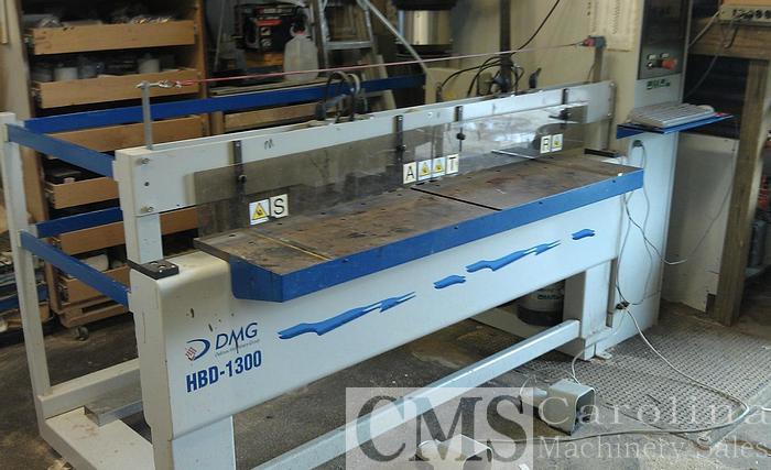 Used Omal DMG HBD 1300 Bore Glue Dowel Machine