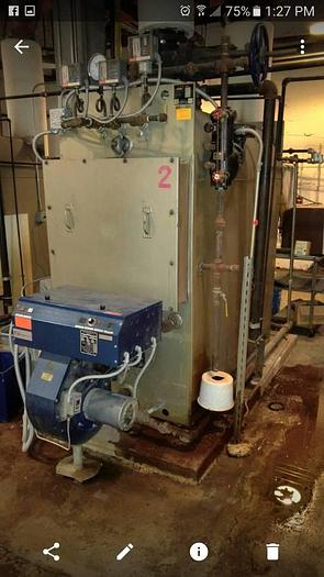 Used Steam Boiler 2004