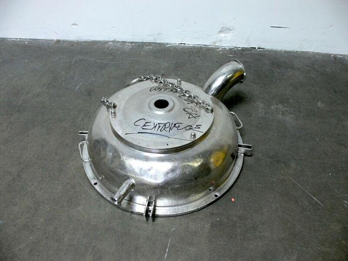 Used Cap for Westfalia Separator All Stainless Steel