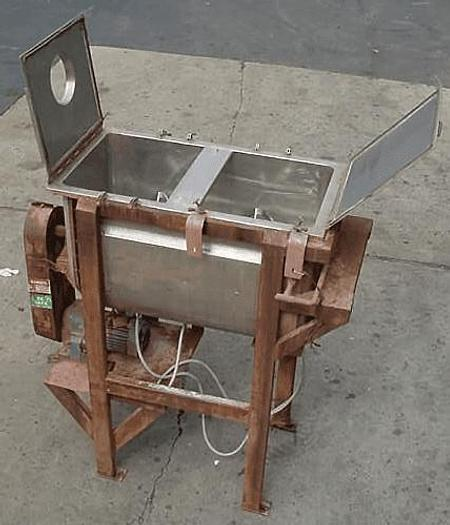 Used 14 CU. FT. DOUBLE RIBBON BLENDER – S/S – JACKETED