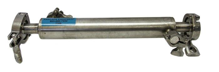 "Used Alfa Laval Tri-Clover Sanitary Heat Exchanger Pipe Stainless Steel 2"" (7389) W"