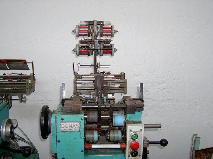 Gebraucht Bandwebmaschine BONAS  2x25mm