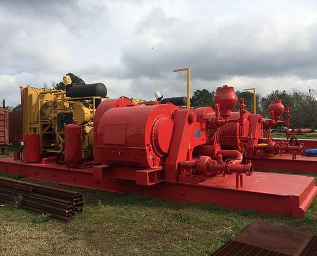 (2) 1000hp Mud Pump & (2) 515bbl Mud Tank Package
