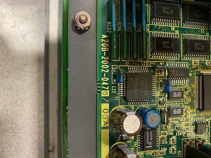 Used FANUC i SERIES OPERATOR PANEL 44A739028-G01R07