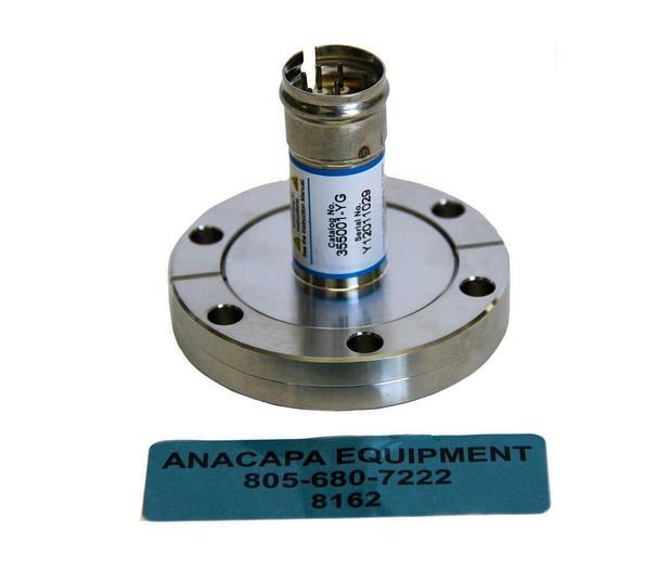 Used MKS Granville-Phillips 355001-YG Laboratory Vacuum Gauge (8162)W