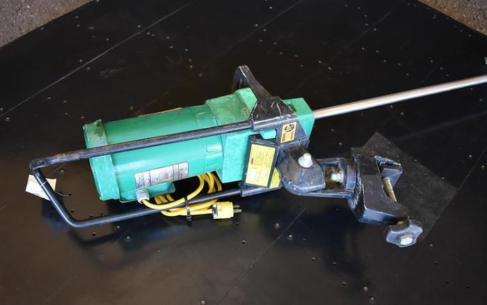 USED LIGHTNIN CLAMP-ON MIXER, 0.5 HP