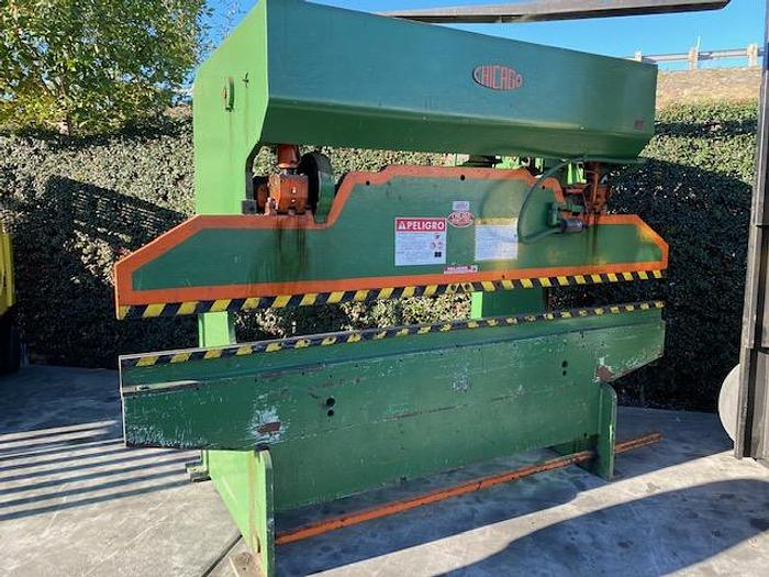 Used Dreis Krump Chicago 6A10 Mechanical Press Brake 55 Ton x 10' #5768