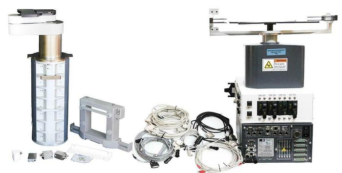 Used Brooks Automation Wafer Handling Robot w/ Aligner & Power Supply USED (7008) R