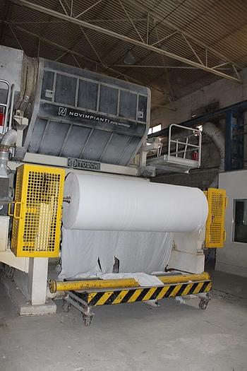(PMT-40) - Tissue Paper Machine, Crescent Former - 2650 mm - Toscotec, Italy
