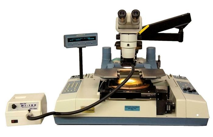 Used Dymatix 880e Semi Automatic Wafer Prober w/ CMO-BHE Microscope PARTS (7383)R