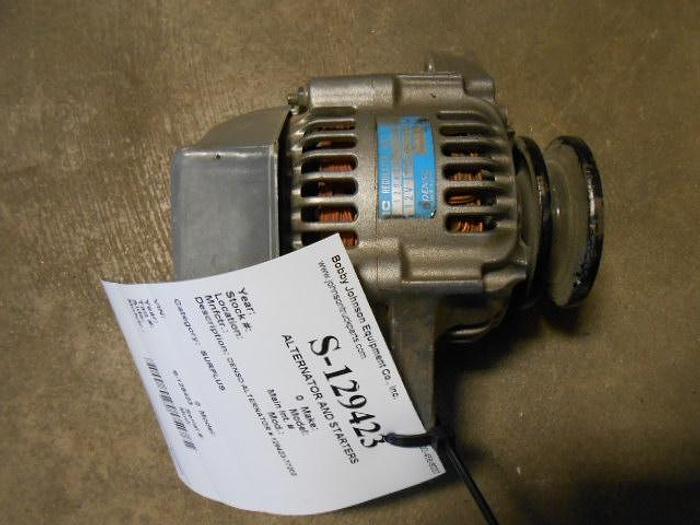 Used NEW DENSO ALTERNATOR FOR JOHN DEERE 12V 40 AMP. 3 PRONG REGULATOR