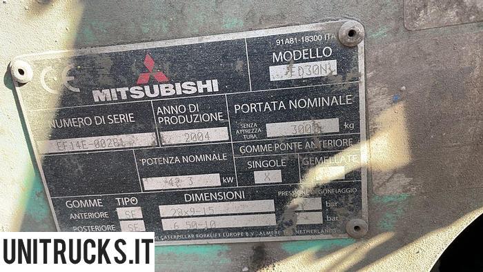 Usata 2004 MITSUBISHI FD30N