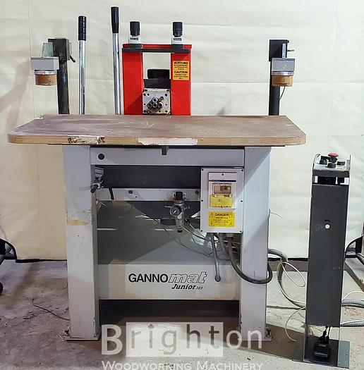 Used 2004 Ganner Ganno Mat Juinor 323, Used slot Mortiser and drilling.
