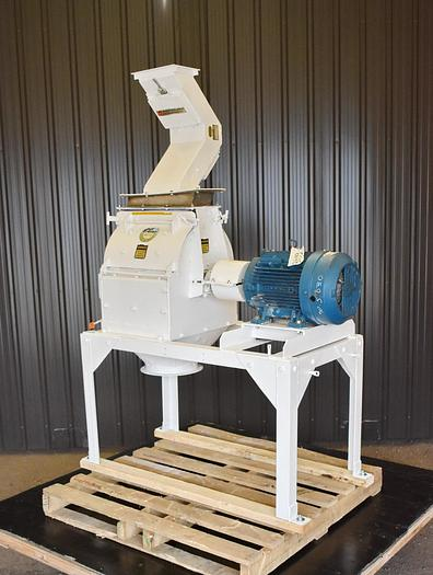 Used USED PRATER HAMMERMILL, SWINGING HAMMERS, CARBON STEEL, 15 HP
