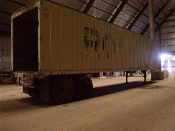 Used 45' Lufkin Enclosed Trailer