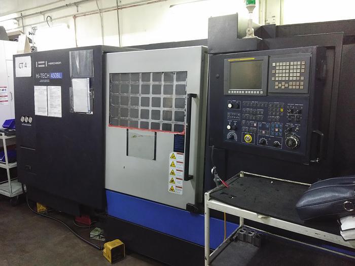 Used 2014 Hwacheon Hi-Tech 450BL Used  CNC lathe