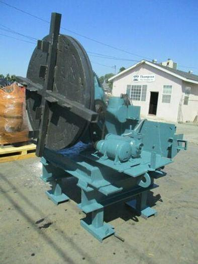 Used CULLEN FREISTADT MODEL 60 WELDING POSITIONER 6000 CAPACITY WITH PENDENT CONTROL