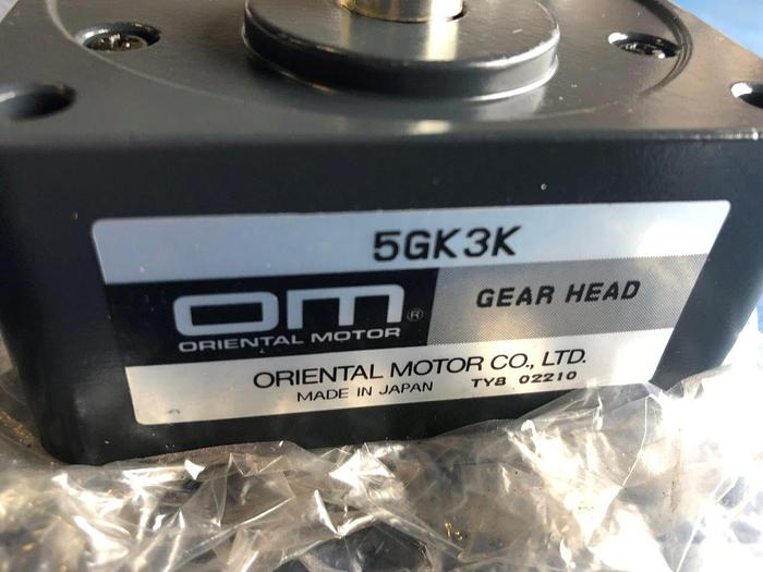 Used oriental motors gear head 5gk3k