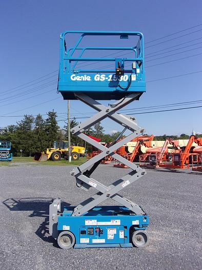 Used 2018 GENIE GS-1530 2WD DC Scissor Lift