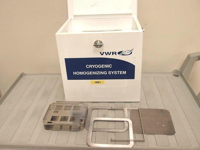 Used VWR Cryogenic Homogenizing System Cooler and Tray ONLY, 12621-194 (1451)