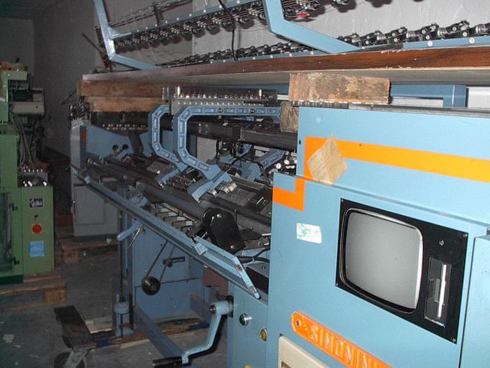 Gebraucht Flachstrickmaschine SIMONINI  32-16-E85 E07/085