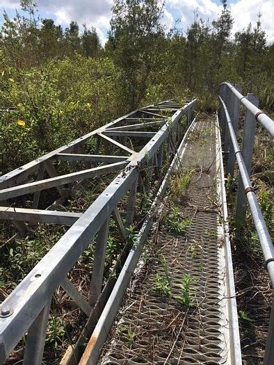 Used 24″ and 30″ Galvanized Heavy Duty Truss Conveyors