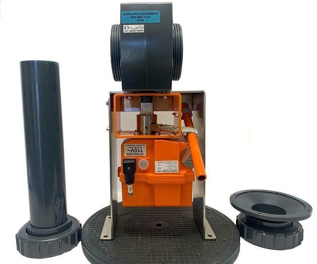 "Used Georg Fischer Typ. EA 30 w/ Typ.370 d90DN80 3"" PN10 Actuator (8764)W"