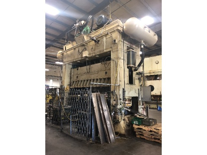 "600 ton Verson 156""x60"" SSDC Stamping Press"