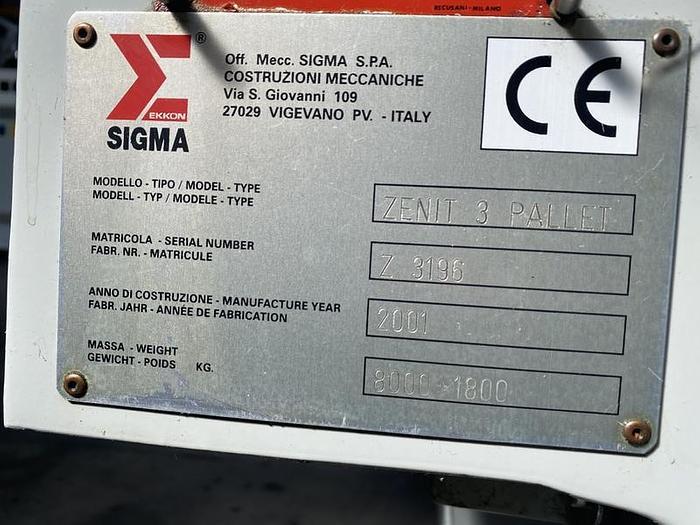 2001 Sigma ZENIT 3P