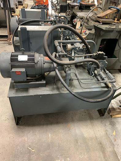 "PARMA HYDRAULIC VERTICAL HIGH SPEED BROACHING MACHINE 1 TON 24"" STROKE"