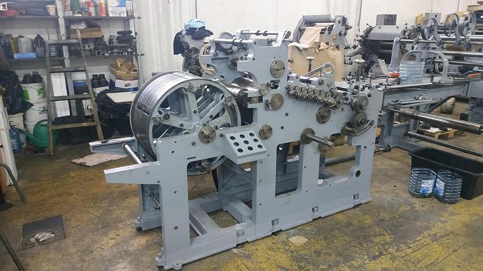 Refurbished Fischer & Krecke Maxima 31 - Flat & Satchel paper bag machine with 3 col. flexo