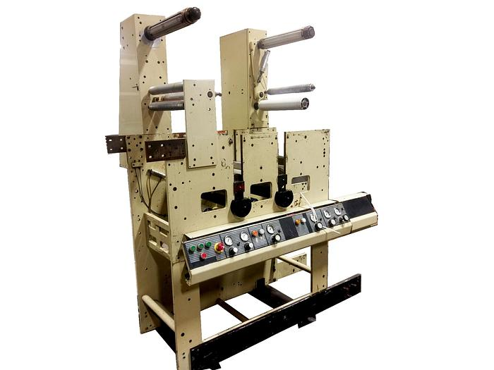 4150 16″ Die Station with Laminating Tower & Waste rewinder