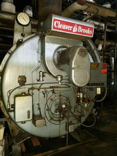 Used Cleaver Brooks Packaged Boiler CB 600X-3580