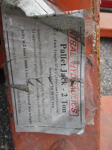 Pallet Jacks Used