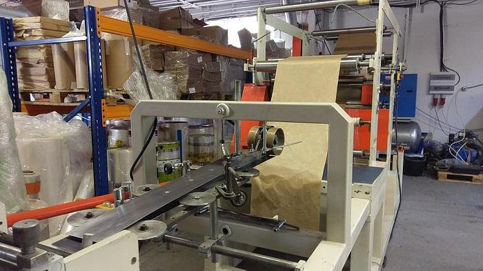 Serbian made – flat & satchel paper bag making – with 2 col. flexo (perforation)