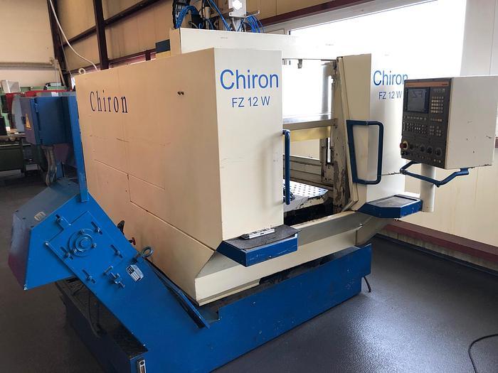 1995 CNC Bearbeitungszentrum - Vertikal CHIRON FZ 12 W