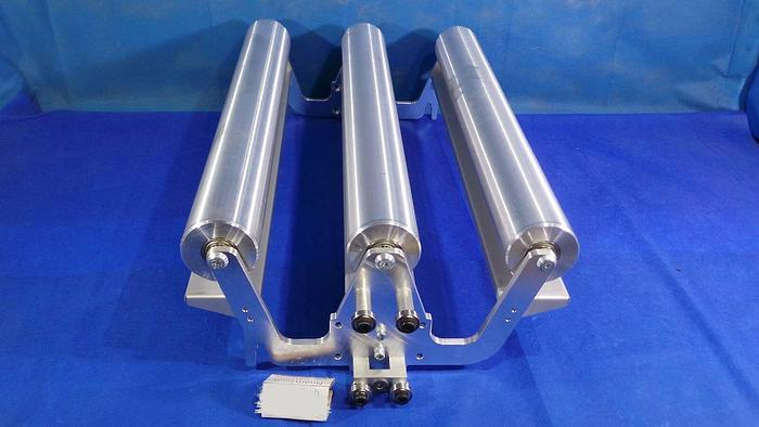 Used Hunkeler UW6.7183 Rollers With Assy Frame for UW6 7183 Unwinder /