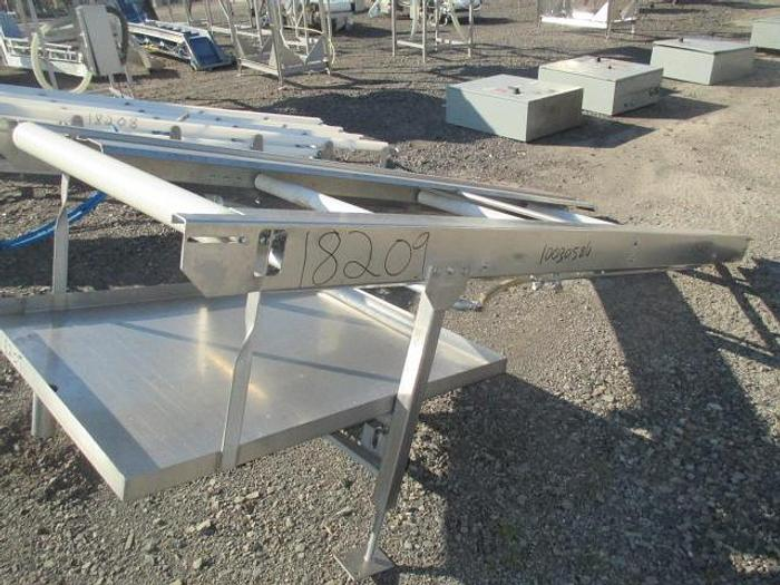 Used DSI Waterjet Portioning System Infeed Conveyor