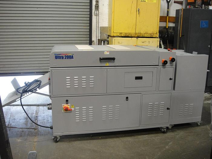 Used Duplo UV 200A Coater with Feeder