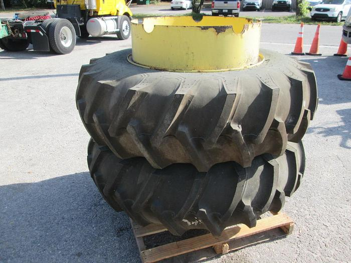 Used Firestone 16.9-30 Tractor Tires And Rims