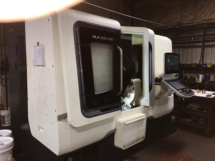 Used 2015 DMG MORI NLX2000Y/500