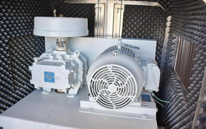 USED ROOTS ROTARY LOBE BLOWER, 148 CFM