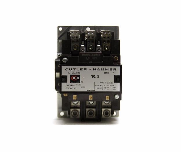 Used Cutler Hammer C32JN31 Series B1 Contactor (4090)