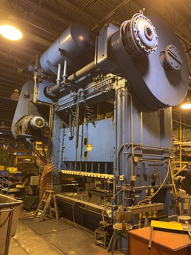 """600 ton Niagara 120""""x48"""" Used Stamping Press"""