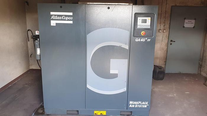 Używane Sprężarka śrubowa Atlas Copco GA45+ FF