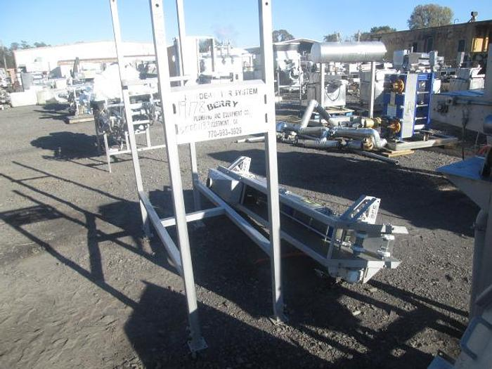 Used Berry Dewatering Conveyor; Md#B-DC-2-6FT