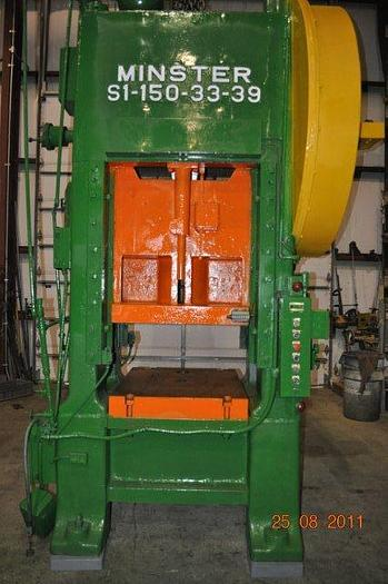 Used 150 TON MINSTER SSSC PRESS